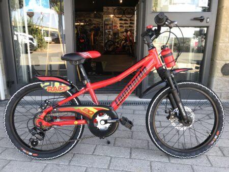 Bici bambino Lombardo Brera 20″ rosso-nero