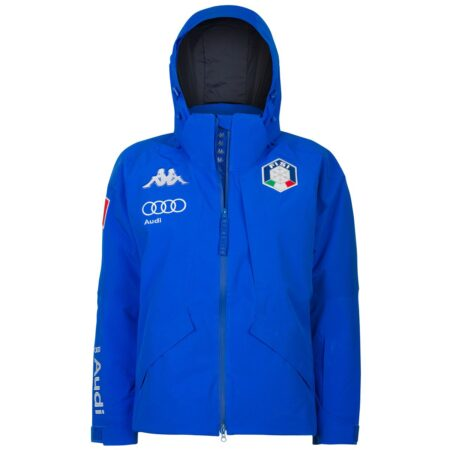 Kappa man's ski Jacket 6CENTO 611 FISI Blue Blue Night – 2021