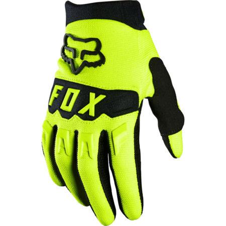 FOX guanti bambino Dirtpaw giallo – 2021