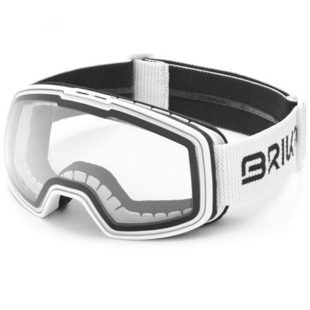 Briko maschera sci NYIRA PHOTO- bianco – 2021