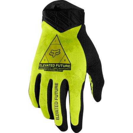 FOX Guanti bike FLEXAIR ELEVATED giallo fluo – 2021