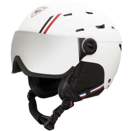 Rossignol Casco sci con visiera Allspeed Visor Impacts Strato white – 2021
