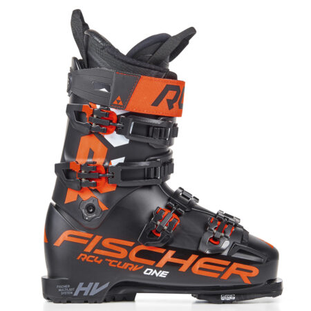 Fischer Ski boots RC4 The Curv One 120 Vacuum Walk Black – 2021
