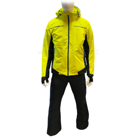 Biting Completo sci uomo Robin Set Yellow Black – 2021