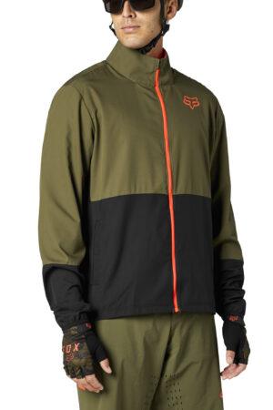 FOX giacca bike Ranger Wind olive green – 2021