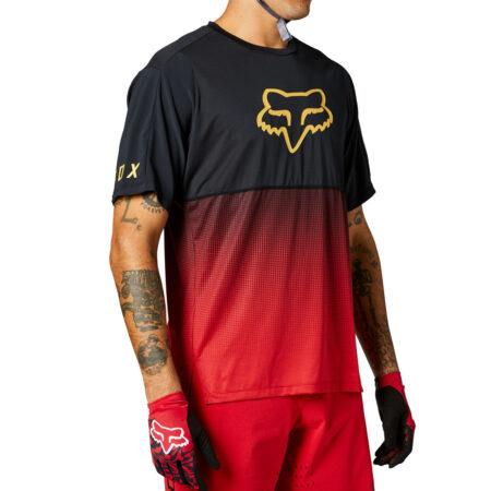 FOX bike jersey Flexair SS chili – 2021