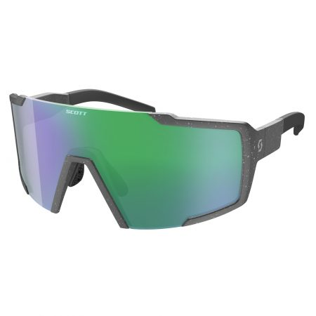 SCOTT occhiali bike SHIELD grey marble green chrome