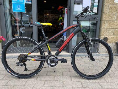 Bici mtb junior LOMBARDO TROPEA 24 nero rosso – 2021