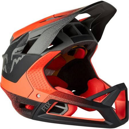FOX casco bike integrale PROFRAME rosso nero 2022