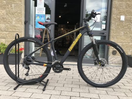 Bici mtb front LOMBARDO SESTRIERE 350 nero-oro 2022